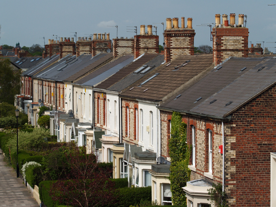 Local Property Tax - Row of Houses